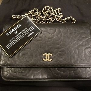 Authentic Chanel Camilla WOC Bought 2012